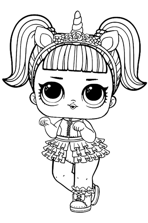 Раскраска. для девочек раскраски куклы лол для девочек ...