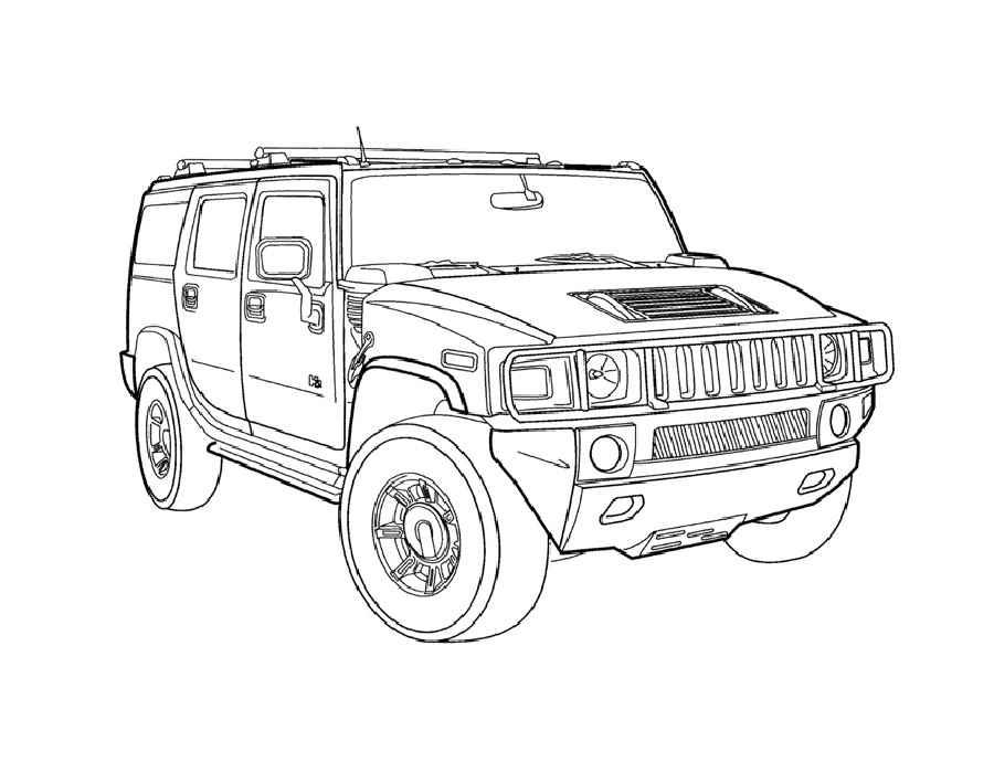 раскраска техника военные джипы бронированные автомобили