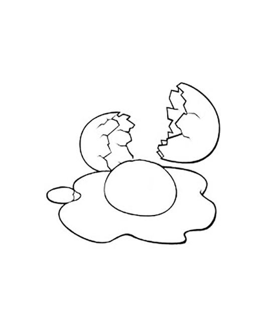 раскраска яйца раскраски яиц яичницы и скорлупы