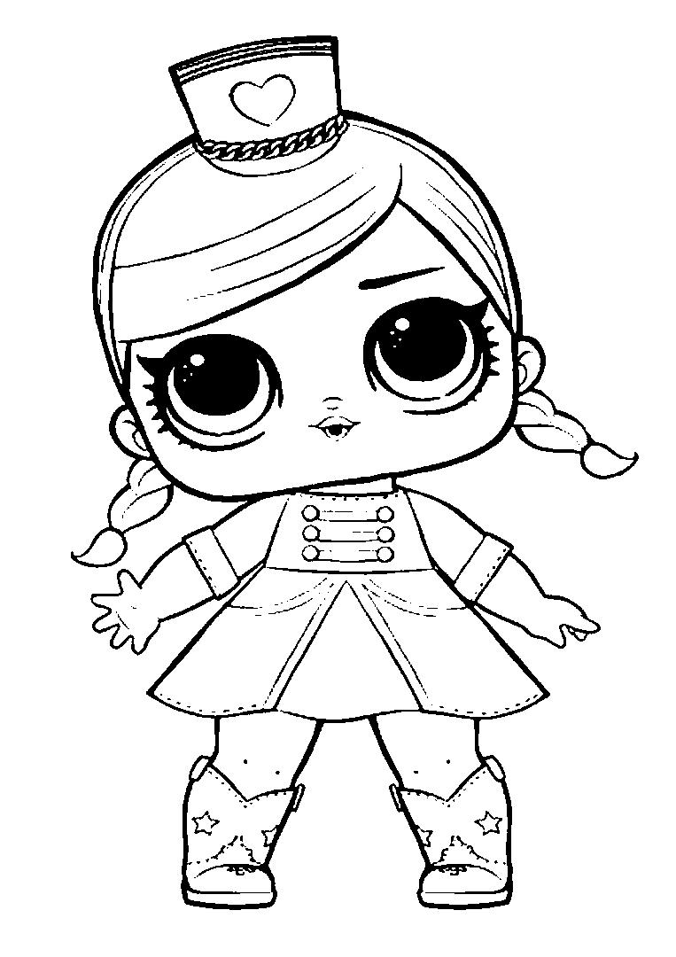 раскраска для девочек раскраски куклы лол для девочек