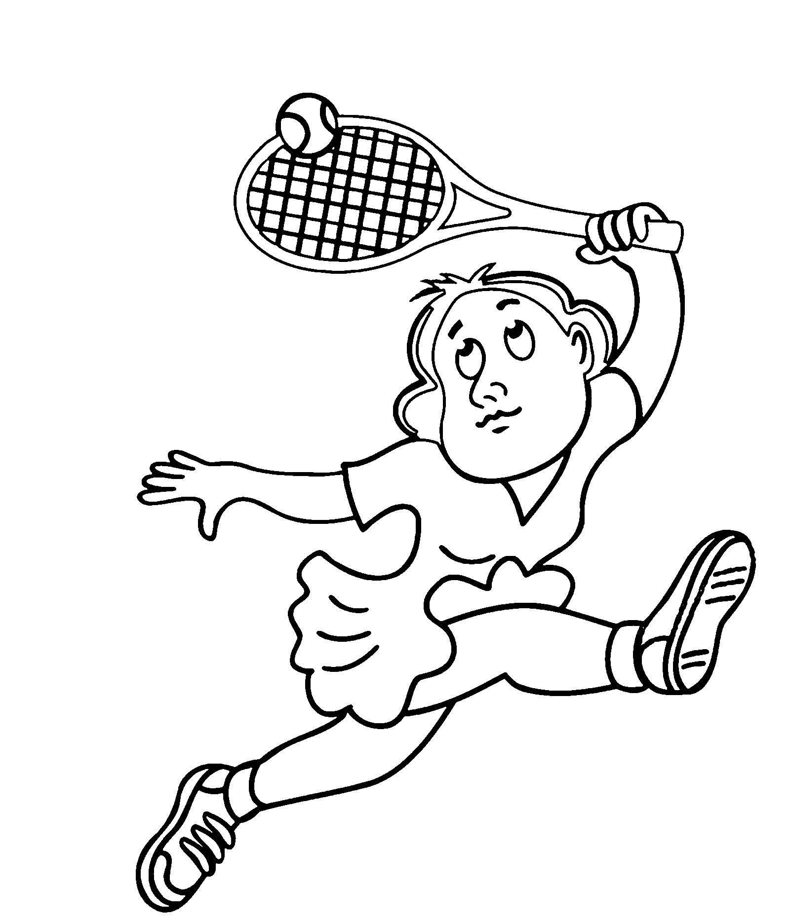 Я выбираю спорт рисунки теннис