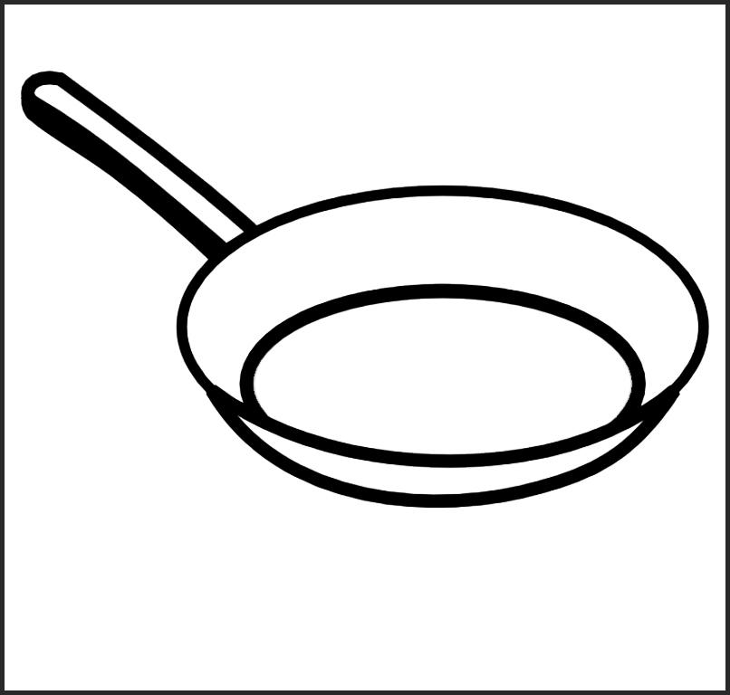 распечатать картинки посуды простой