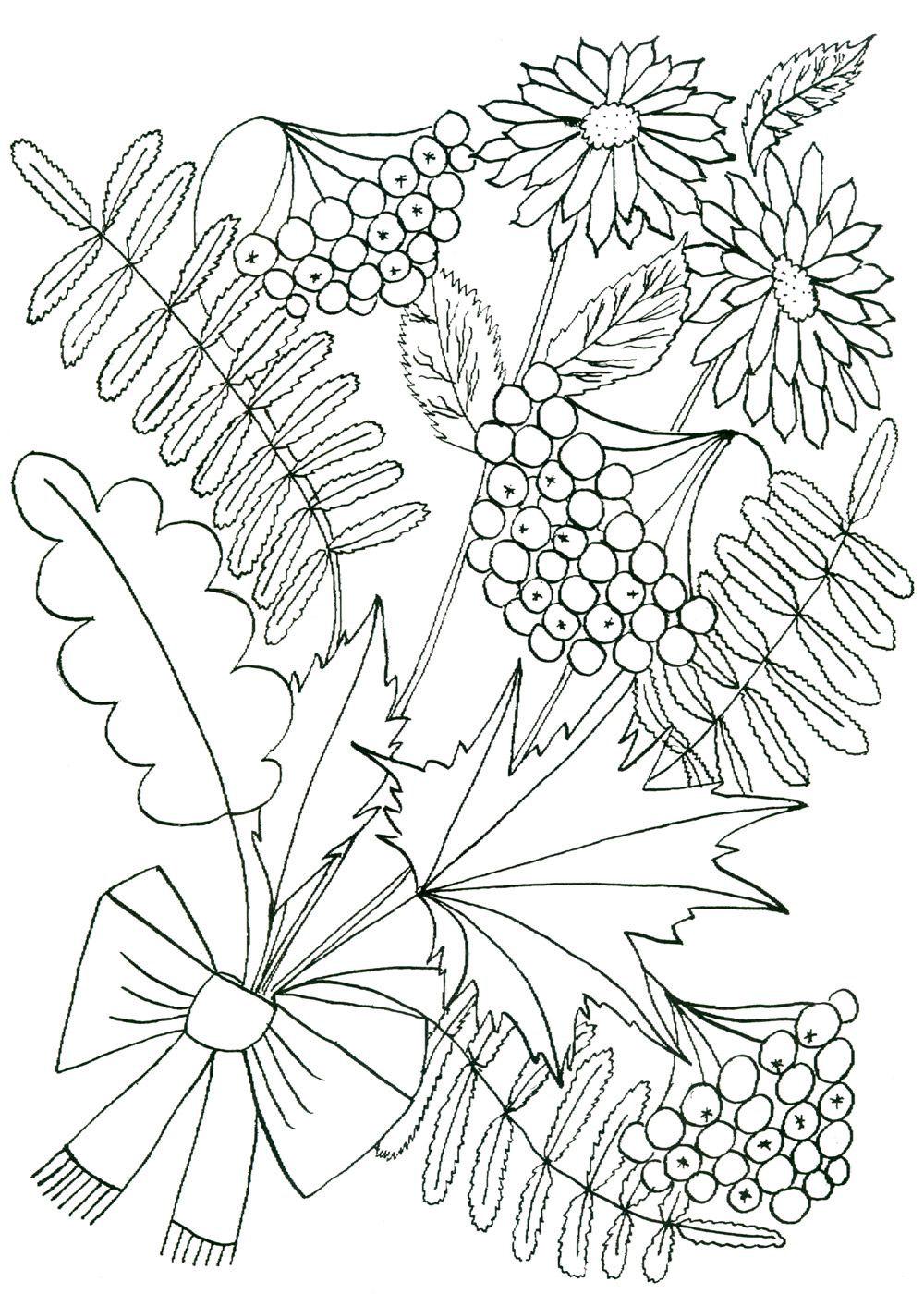 подстилка картинки для раскрашивания ваза с листьями какая масленицы может
