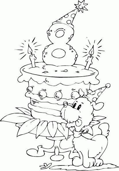 Все Детские раскраски на день рождения и именины скачать и распечатать бесплатно раскраски на праздники