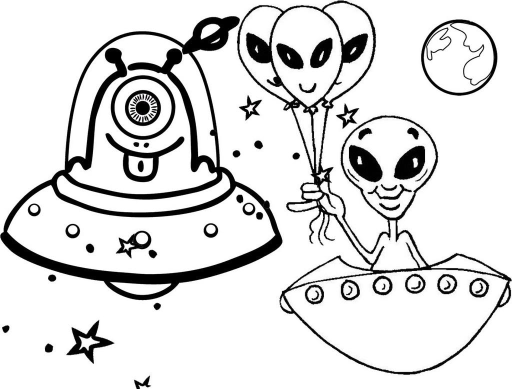 элементарных рисунок пришельцы из космоса масса конструкции