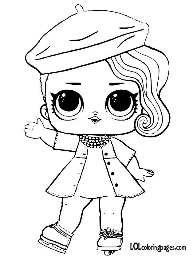 Все Раскраска кукла лол Posh, раскраски куклы распечатать, кукла Пош Раскраска кукла лол Posh, раскраски куклы lol, раскраска кукла лол на коньках, раскраска кукла лол в берете, раскраска кукла лол с собранными волосами на бок