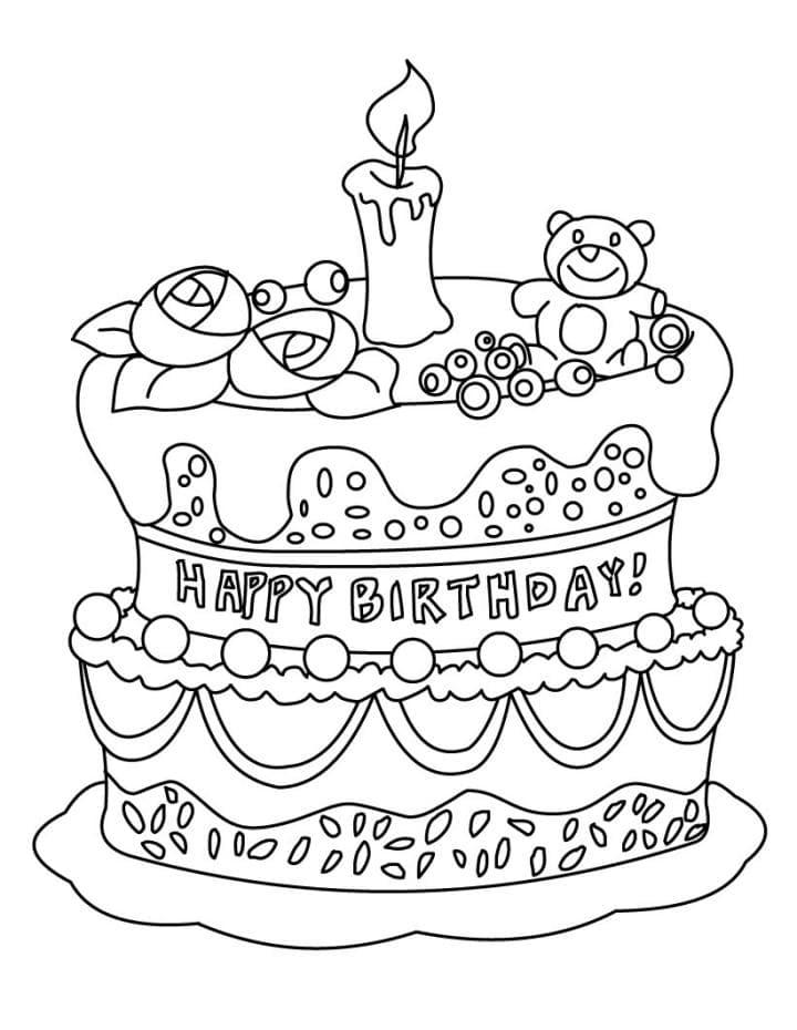 Картинки печатать с днем рождения