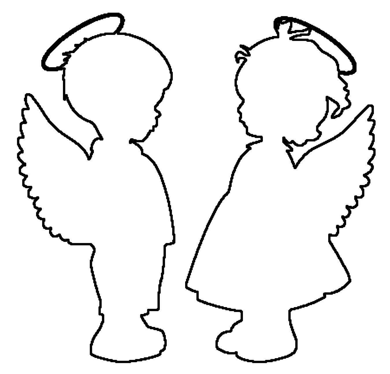 гарантируем вам контур ангел картинки чисто