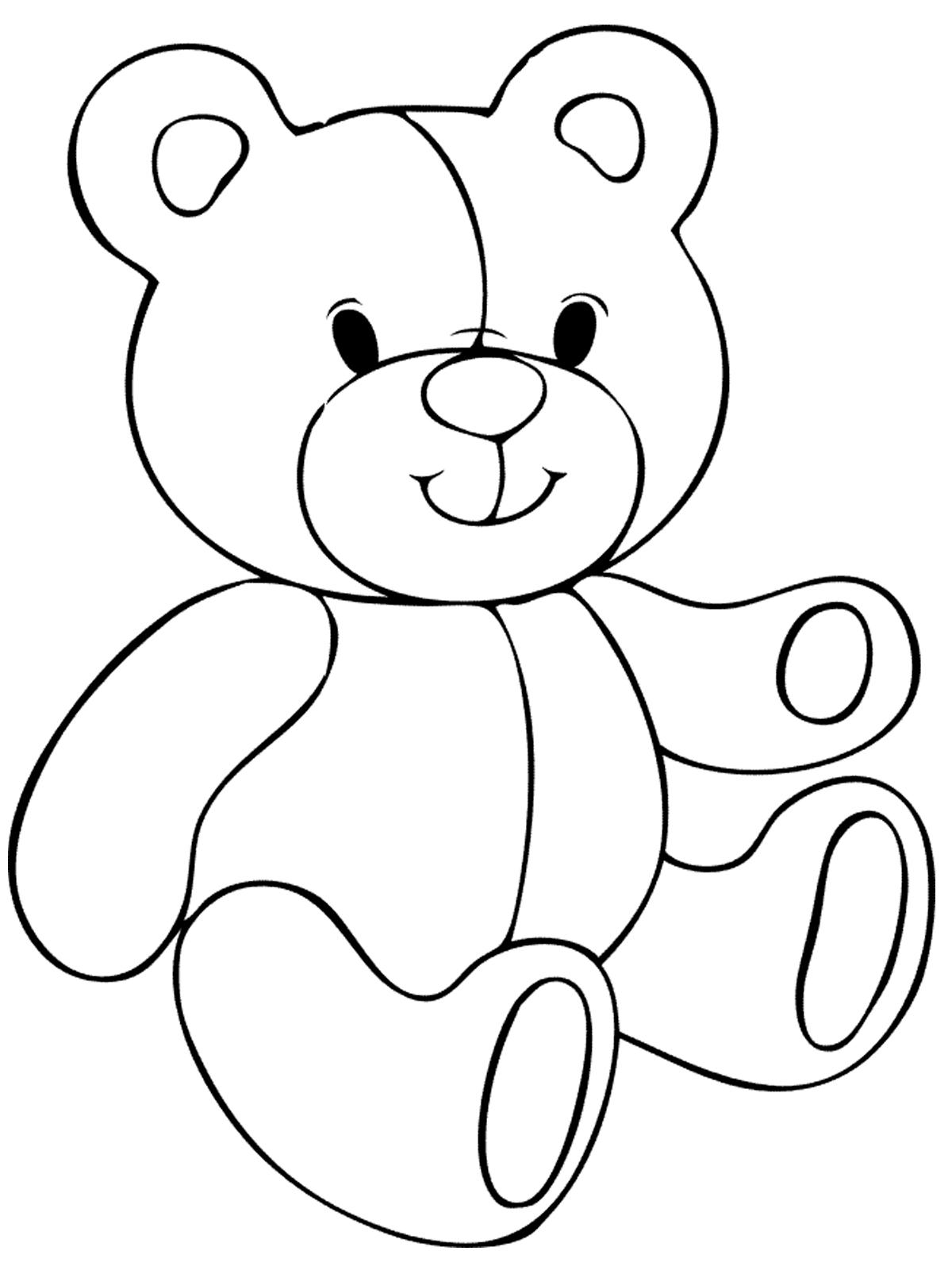 загружаю шаблоны мишки для рисования этого