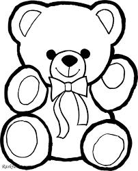 Раскраска Раскраски с медведями и медвежатами Детские раскраски для раннего развития скачать и распечатать
