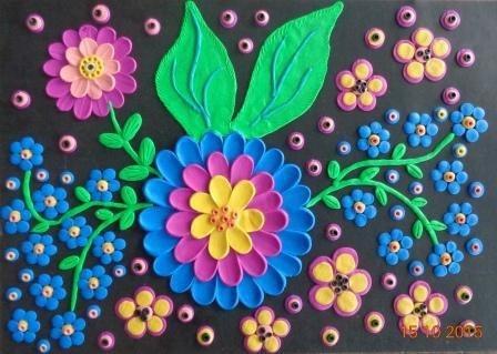 Все Идеи для лепки цветов из пластилина Задания для творческих занятий с детьми. Идеи как лепить с детьми