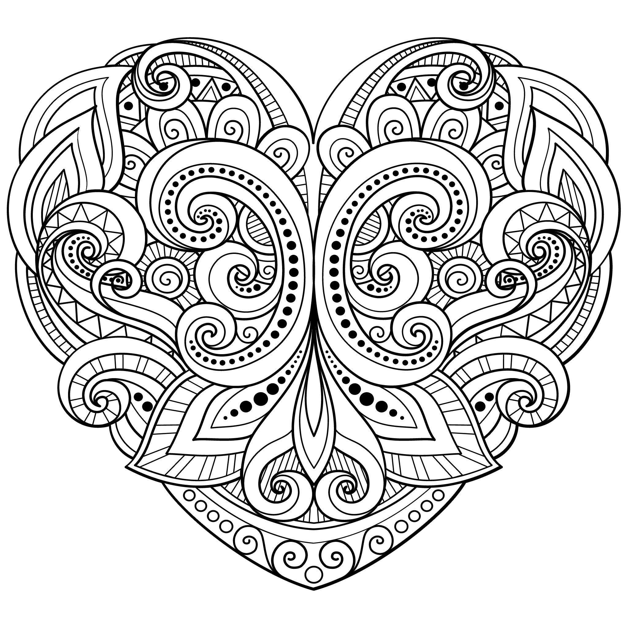 рисовать картинки сердечки с узорами данном случае значимую