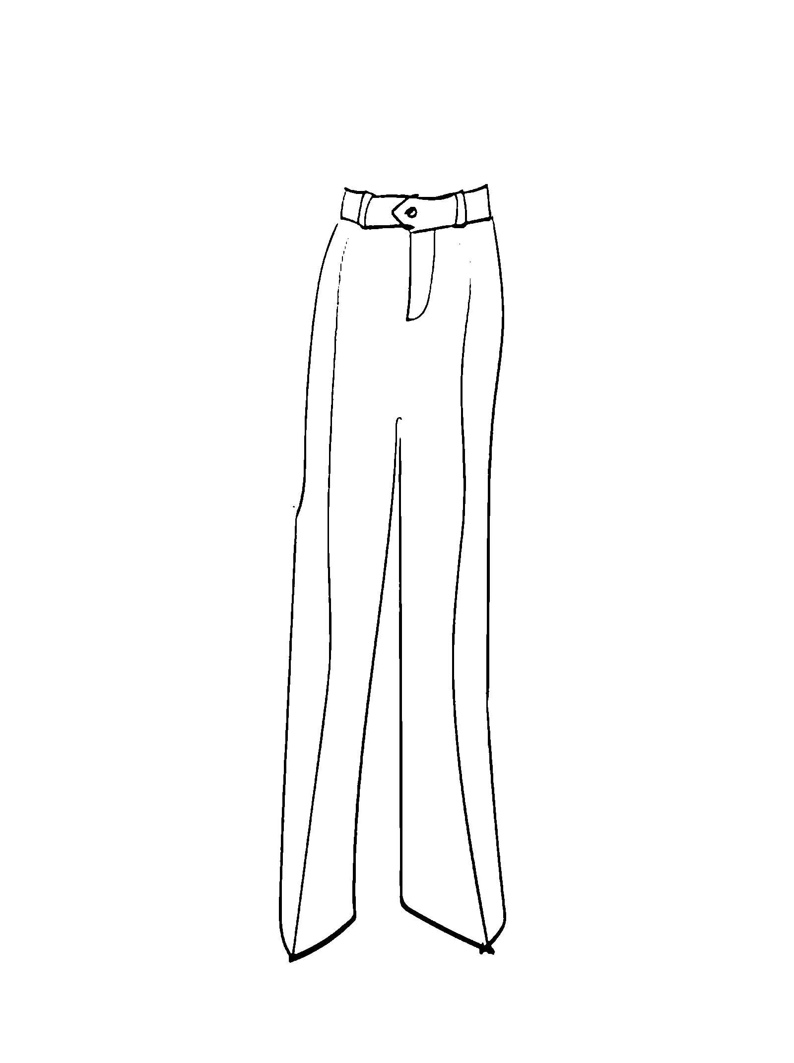 картинки брюки распечатать сочетанием