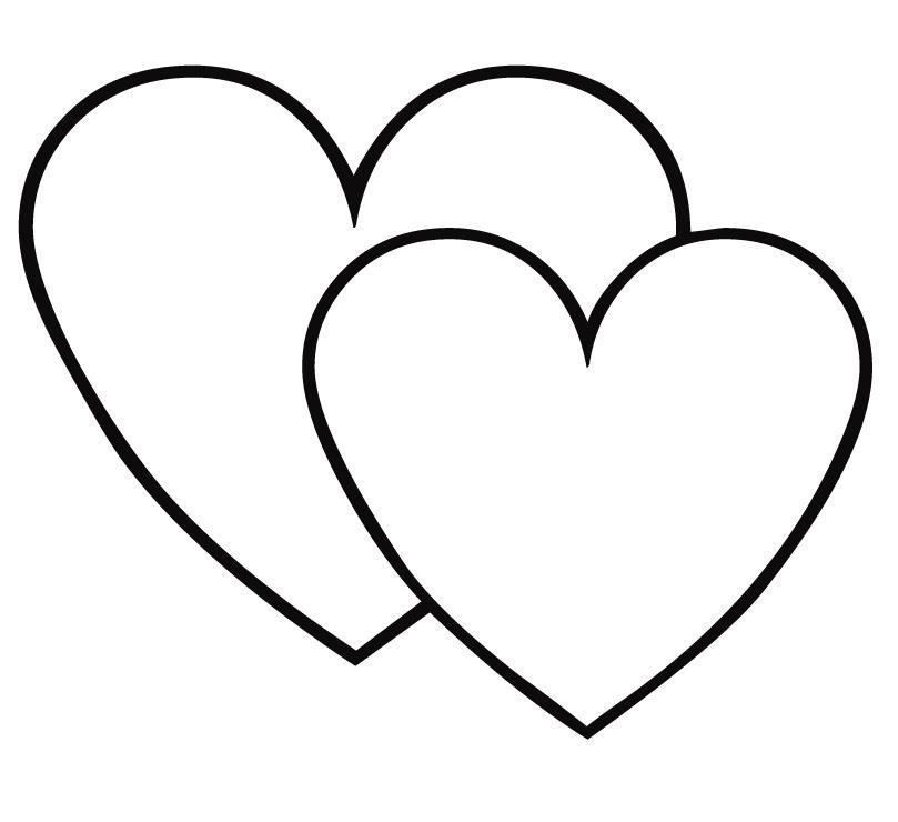 Красивые сердечки раскраска распечатать