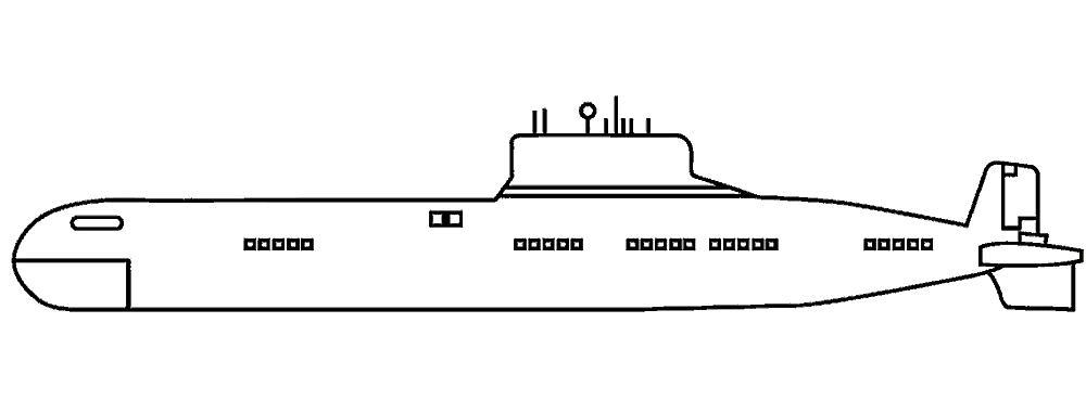 Картинки подводных лодок для распечатывания