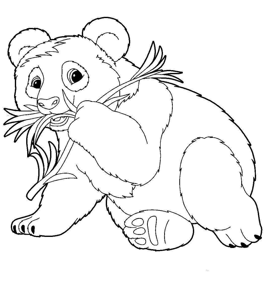 долго картинки раскраски панд стараемся