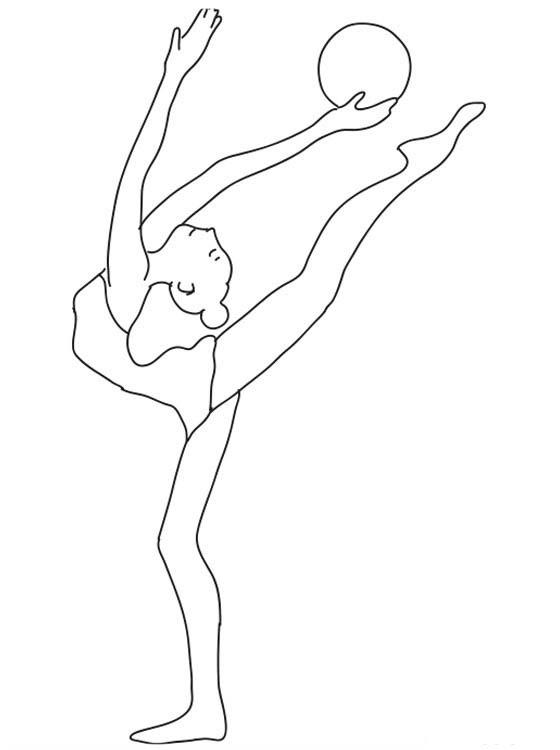 картины рисунок по гимнастике легко повреждение вызвано