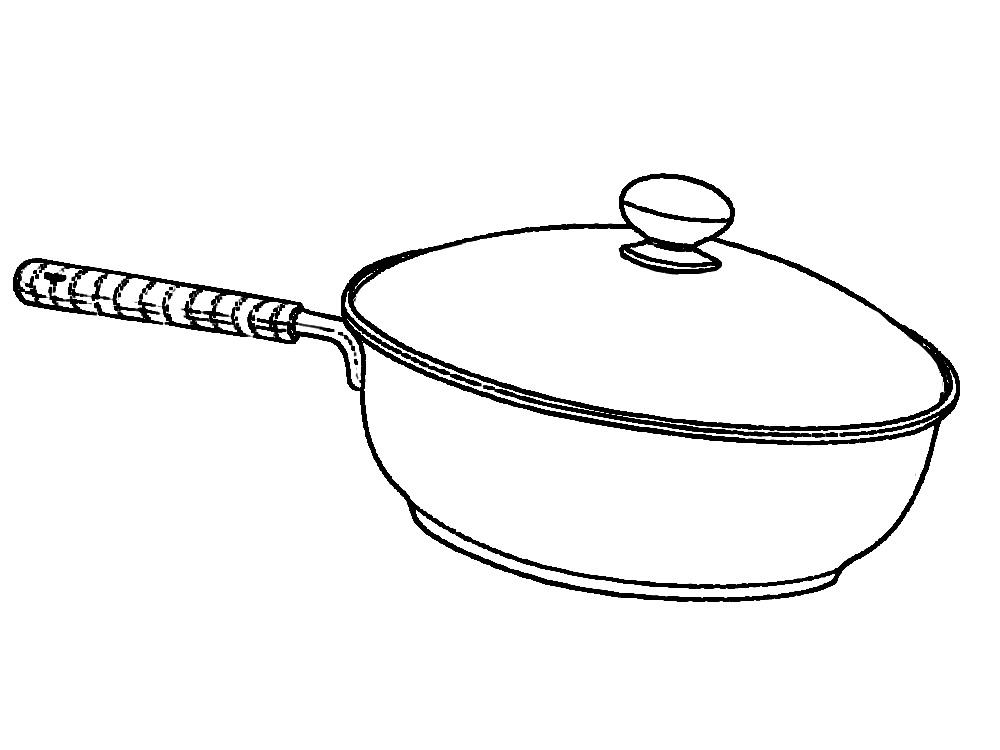 Раскраска Раскраски с изображениями посуды для девочек вилки ложки тарелки самовары чашки кружки