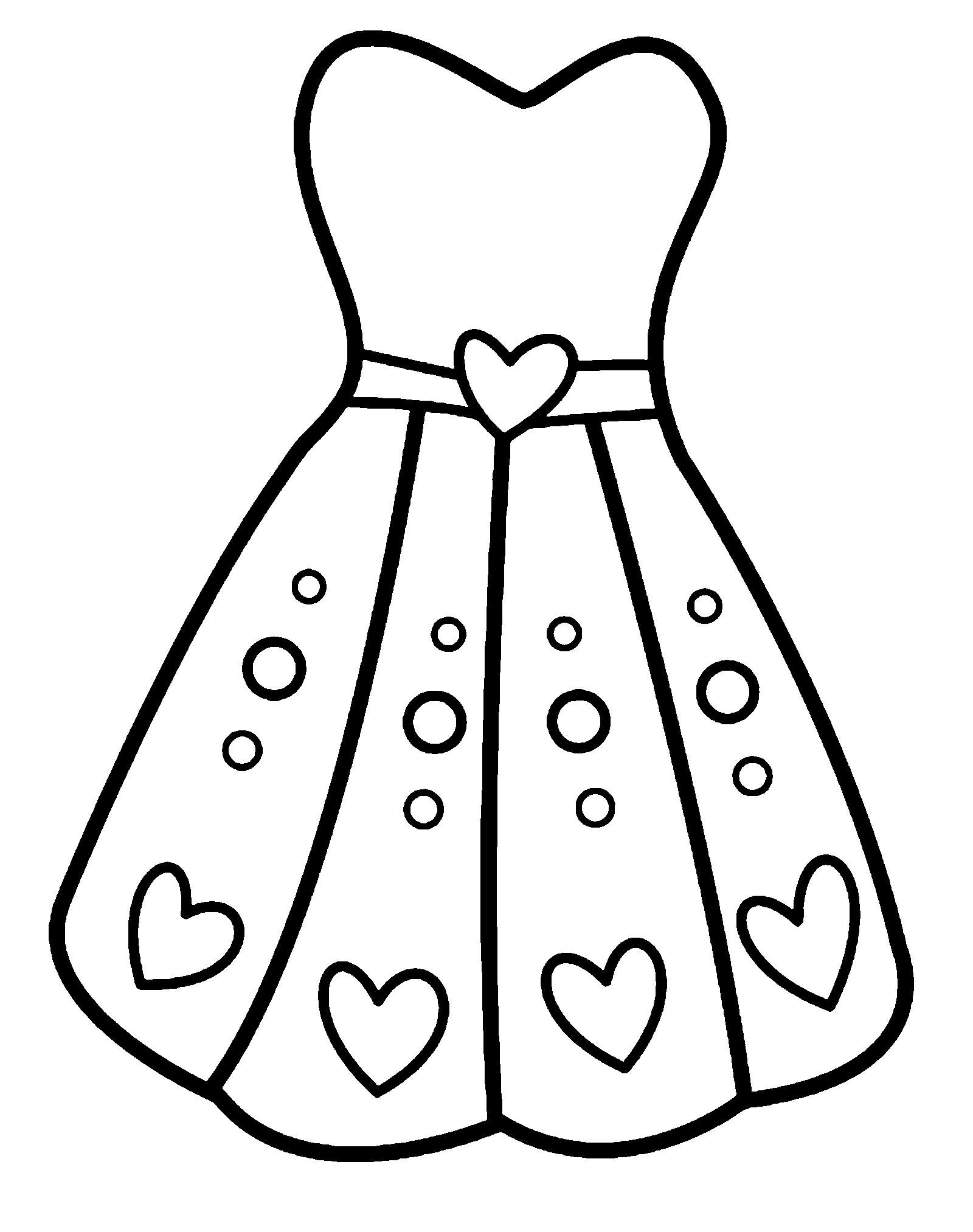 Распечатать Платья Для Девочек