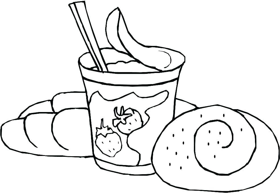 данным картинки для раскрашки еда том, что когда