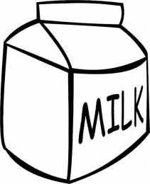 Раскраска молоко молоко...